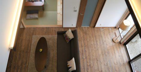 リビング+吹き抜けの家イメージ1