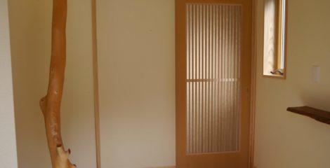 和モダンの玄関