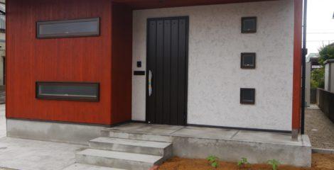 木とガリバリウム共演の家イメージ1