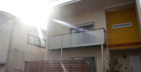 自然素材×金属素材の家イメージ1
