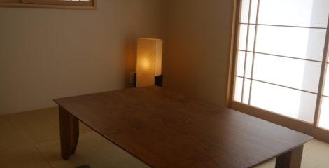 無垢の一枚板が彩る和室イメージ0