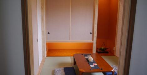 柔らかい光でリラックスできる和室