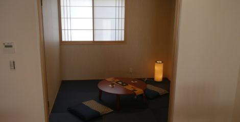 畳で彩る和室