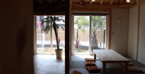庭へつながる和室イメージ1