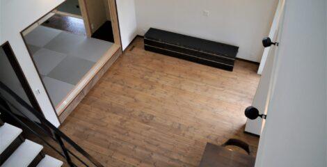 無垢のオイル床の家